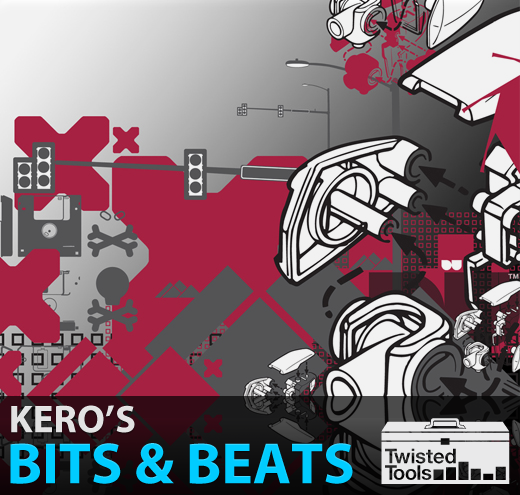 Twisted Tools Keros Bits And Beats AiFF Battery KYMA patches