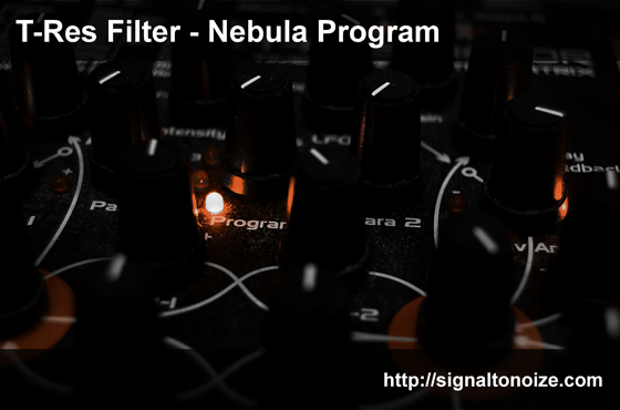 Signaltonoize STN T-Res Filter For Nebula-MAGNETRiXX
