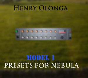 Henry Olonga Model One Out For Nebula-MAGNETRiXX