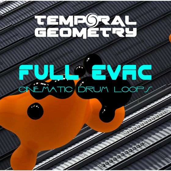 Temporal Geometry Full Evac Cinematic Drum Loops WAV-MAGNETRiXX