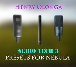 Henry Olonga – Audio Tech 3 Microphones for Nebula 192 khz