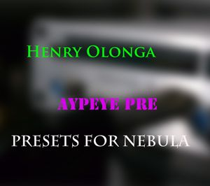 Henry Olonga AyPeye PRE and DI 192 khz For Nebula-MAGNETRiXX
