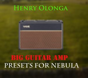 Henry Olonga Big Guitar Amp for Nebula 192 khz-MAGNETRiXX
