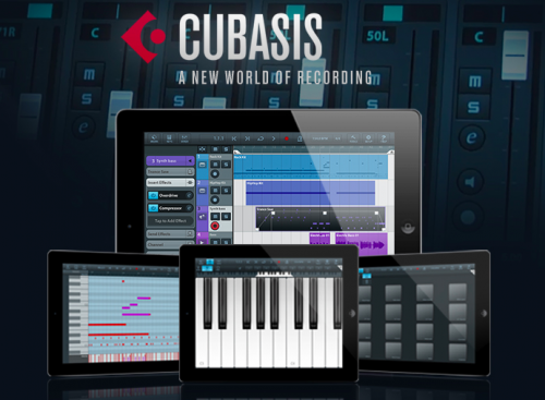 Cubasis v1.7.2 for iPad iOS