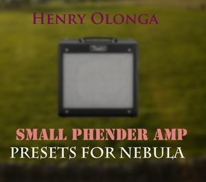 Henry Olonga Small Phender Guitar Amp for Nebula 192 khz-MAGNETRiXX