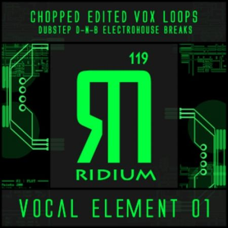 Ridium Sound Vocal Element 01 WAV Ni Massive-MAGNETRiXX