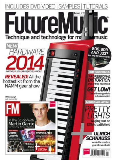 Future Music Issue 276 March 2014 Content DVD