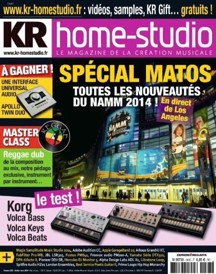 Keyboard Recording Home Studio N 293 - Février 2014