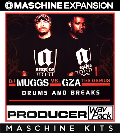 Muggs and Gza Drums and Breaks Maschine Kit