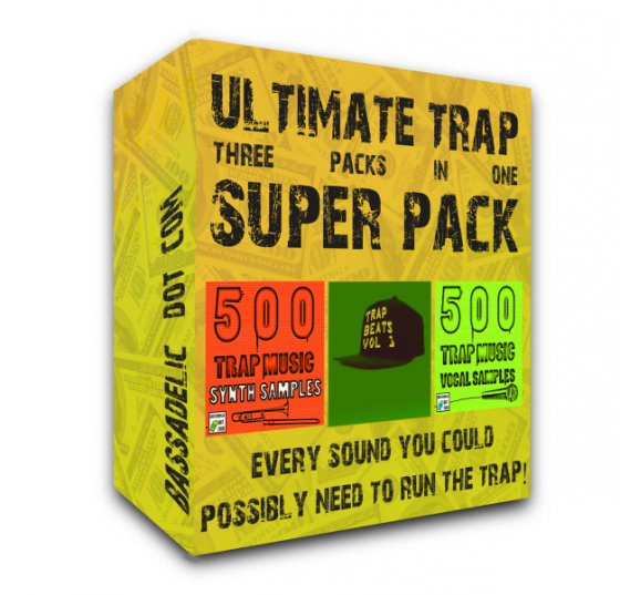 Bassadelic Ultimate 3-in-1 Trap Super Pack WAV