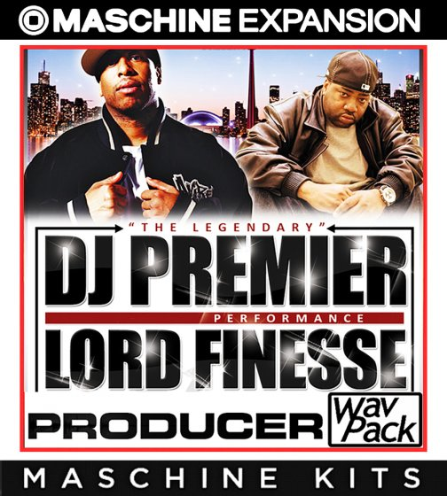 Dj Premier Lord Finest Maschine Kit